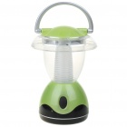 Outdoor LED Portable Camping Fishing White Light Lamp lantern - Green (3*AA)