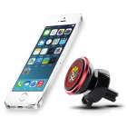 Hat-Prince 360 Degree Rotable Car Air Vent Phone Mount Holder - Red
