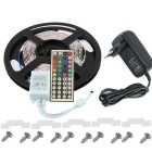 KWB 300-LED RGB Light Strip w/ 44-Key IR Remote, 12V 3A Power Supply