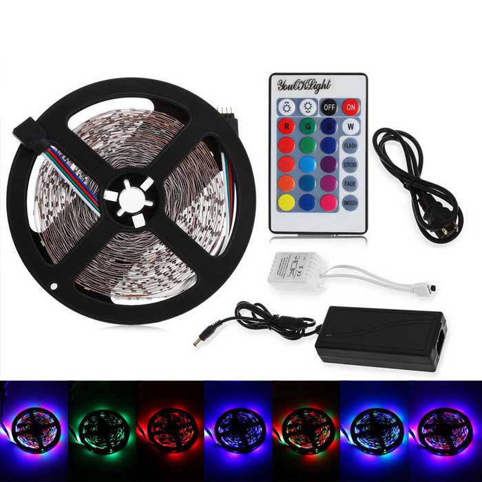 YouOkLight® 3528 SMD LED RGB LED Tira de luz no impermeable (33 pies / 10 m)