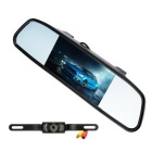 KELIMA-061 Car Rear View Camera + Display Set - Black