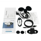 GXV Motorcycle Bluetooth Interphone Video Camera Recorder - White