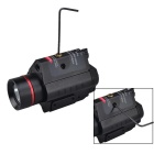 RichFire SF-P23 LED White Red Laser Sight 20mm Rail Flashlight - Black