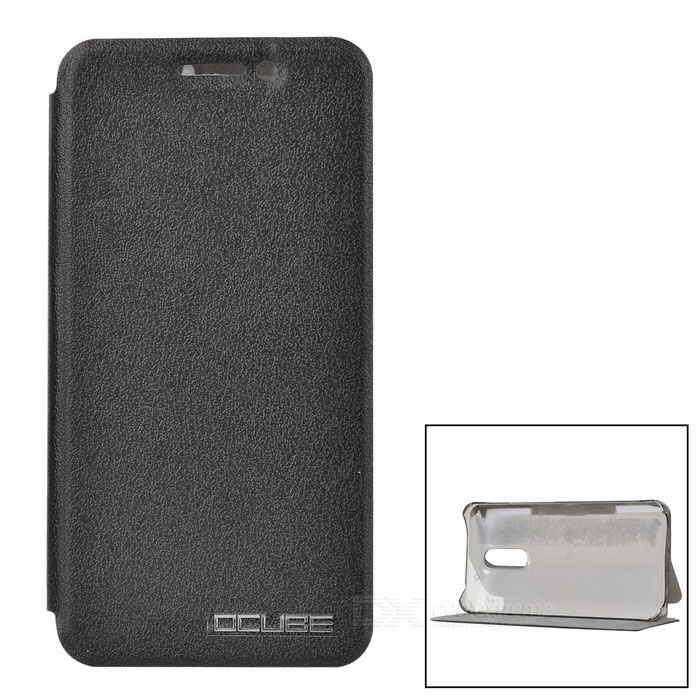 OCUBE Protective PC + PU Full Body Case for UMI Super - Black