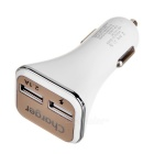 Cwxuan QC 2.0 Dual USB Car Power Charger - White