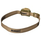 SUNREE Outdoor Waterproof Inductive Night Fishing Headlamp - Khaki