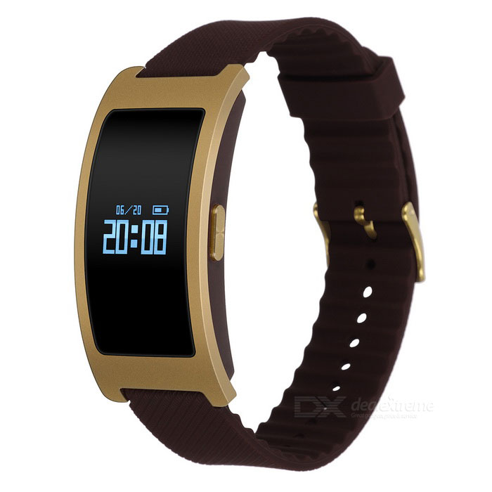 Eastor CK11 IP67 Smart Band w/ Heart Rate Blood Pressure Monitor- Gold