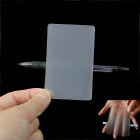 Magic Toy Magical Perspective Hallucination Twist Card - Transparent