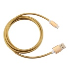 Hat-Prince Spring Style Data / Charger Cable for Android Phone -Golden