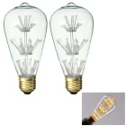 Squirrel Cage Style Decorative Vintage Light Bulbs Warm White 3500K 230lm 47-LED