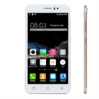 Standard + Micro SIM Card Phone w/ Wi-Fi, BT 4.0, Quad-Core, 2.0MP, TF Slot