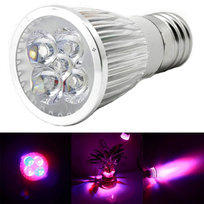 E27 5W 350lm LED Plant Growth Light Red + Blue Light (AC 85-265V)