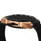 NO.1 G5 MT2502 240*240 Bluetooth 4.0 Heart Rate Smart Watch - Golden