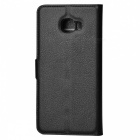 Lichee Pattern Protective Case for Samsung Galaxy C7 - Black