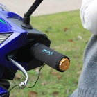 IZTOSS USB Heated Grips Handlebar Warmer Sleeves + Thermostat Switch