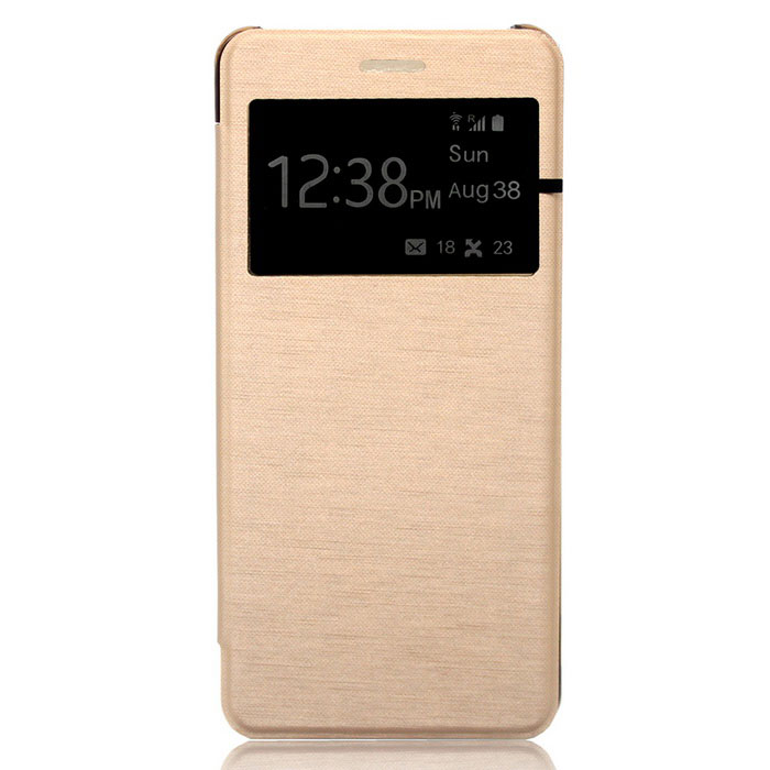 Protective Leather + ABS Case for Samsung GALAXY NOTE 7 - Golden