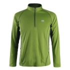 NatureHike Men's Long Sleeve Quick Dry Hiking T-shirt - Green (M)