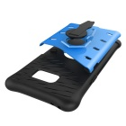 Protective Silicone + PC Back Case w/ Holder Stand for Samsung Note 7