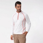 NatureHike Men's Long Sleeve Quick Dry Hiking T-shirt - White (L)