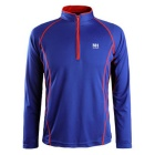 NatureHike Men's Long Sleeve Quick Dry Hiking T-shirt - Blue (L)