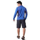 NatureHike Men's Long Sleeve Quick Dry Hiking T-shirt - Blue (M)