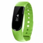 Eastor ID101 Bluetooth Smart Bracele w/ Heart Rate Monitor - Green