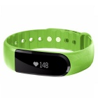 Eastor ID101 Bluetooth Smart Pulseira w / Heart Rate Monitor - Verde