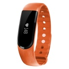 "ID101 Bluetooth 4.0 Wristband resistente à água Watch w / Heart Rate Fitness 0,91"" Touch tela OLED"