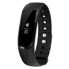 Eastor ID101 Bluetooth Smart Bracele w/ Heart Rate Monitor - Black
