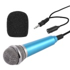 Portable Outdoor Microphone - Blue