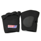 Gloves for Mountaineering, Playing Basketball, Weightlifting - Black