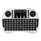 Rii 2.4RT-MWK08+ GHz Wireless 92-Key Keyboard Air Mouse - Black+White
