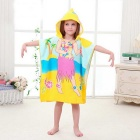 Creative 3D Printing Fiber Rejection Skirt Girl Children Hooded Towel