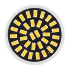 ywxlight alta GU10 7W brillante blanco caliente 32 a 5.733 foco de LED SMD