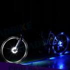 The New Hot Wheels Bicycle Wheel Lights Magic Lamp - Blue