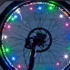 Outdoor Bike Spokes Hot Wheels-type LED Strip Lights Wheel Lights