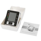 Intelligent LCD Electronic Hand Wrist Sphygmomanometer - Black + White