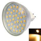 MR16 3W 300lm Warm White 36-2835 SMD LED Spotlight (AC 10-30V)