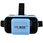 VR BOX Mini Realidade Virtual 3D Óculos + Bluetooth Gamepad - Azul
