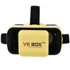 VR BOX Mini Virtual Reality 3D Glasses + Bluetooth Gamepad - Yellow