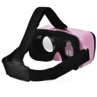 VR BOX Mini Virtual Reality 3D Glasses + Bluetooth Gamepad - Pink