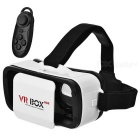 VR BOX Mini Virtual Reality 3D Glasses + Bluetooth Gamepad for 4.5-5.5 inches Phone