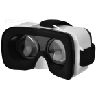 VR Mini gafas de realidad virtual 3D + bluetooth del gamepad - blanco