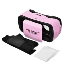 VR BOX Mini Virtual Reality 3D Glasses - Pink