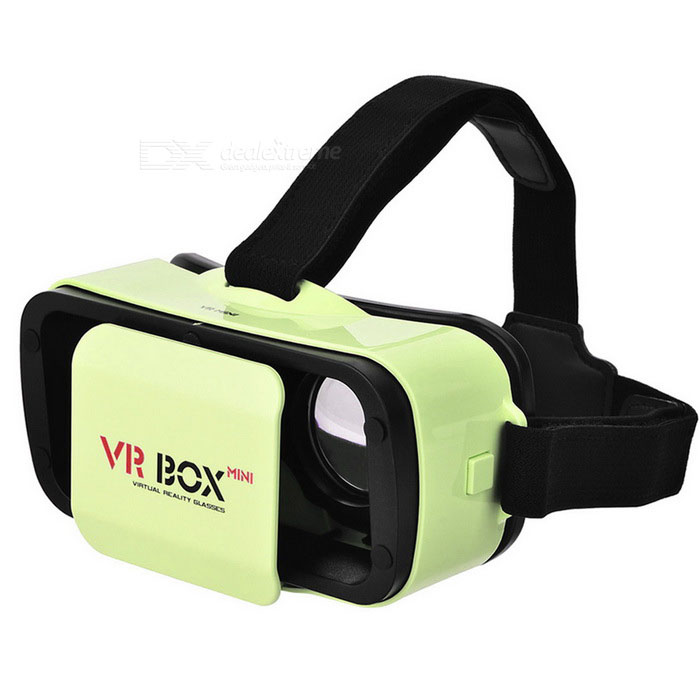 VR BOX Mini Virtual Reality 3D Glasses - Green