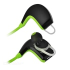 Wireless Stereo In-ear Bluetooth V4.1 Earphone w/ Mic. - Black + Green