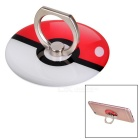 KICCY Universal Cell Phone Ring Holder - White + Red + Black