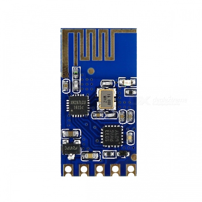 SMD 2.4G Wireless Serial Transparent Transceiver Module for Arduino