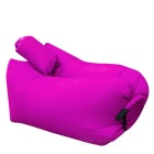 Portable Inflatable Sleeping Bag / Deck Chair w/ Pillow for Camping