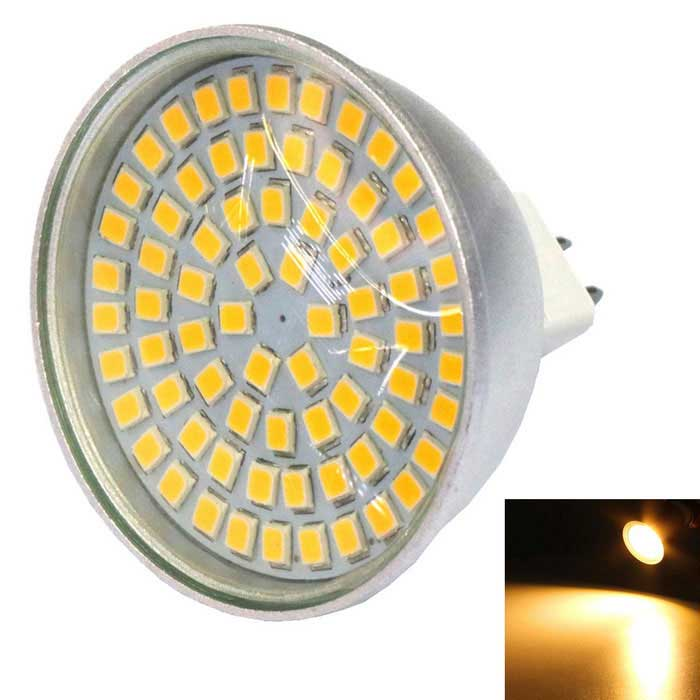 MR16 5W 500lm Warm White 72-2835 SMD LED Spotlight (AC10-30V)MR16<br>Color BINWarm WhiteMaterialAluminum alloy + plasticForm  ColorSilver + WhiteQuantity1 DX.PCM.Model.AttributeModel.UnitPower5WRated VoltageOthers,AC10-30 DX.PCM.Model.AttributeModel.UnitConnector TypeMR16Emitter TypeOthers,2835 SMDTotal Emitters72Chip BrandOthers,-Actual Lumens500 DX.PCM.Model.AttributeModel.UnitTheoretical Lumens500 DX.PCM.Model.AttributeModel.UnitColor Temperature3000KDimmableNoBeam Angle270 DX.PCM.Model.AttributeModel.UnitPacking List1 * MR16 bulb<br>